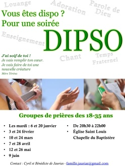flyer DIPSO 2ème semestre
