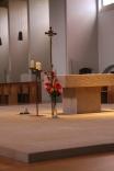 Chaque soir, nous prions les Vêpres avec les moines.