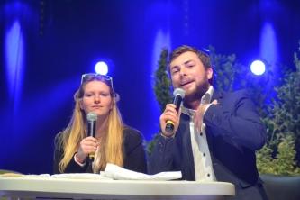 les speakers de la cérémonie d'ouverture