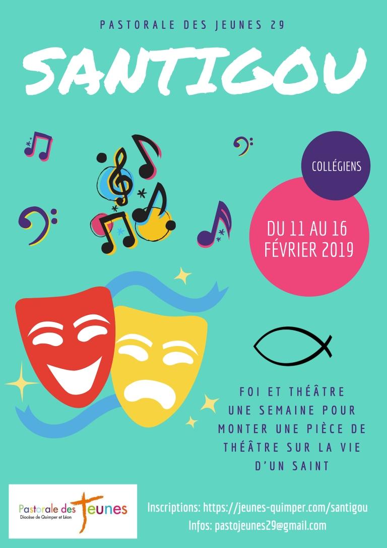 Santigou affiche